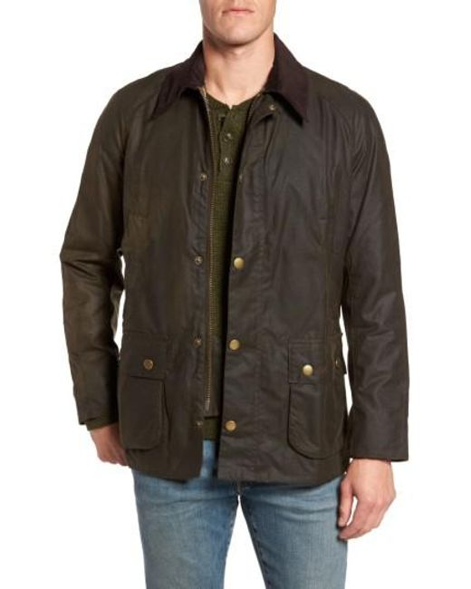 Barbour | Blue 'ashby' Regular Fit Waterproof Jacket for Men | Lyst