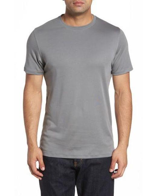 Robert Barakett   Gray 'georgia' Crewneck T-shirt for Men   Lyst
