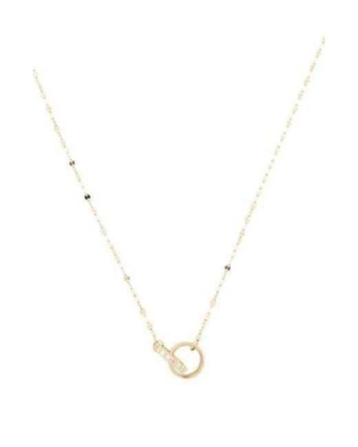Lana Jewelry | Metallic Flawless Diamond Link Pendant Necklace | Lyst