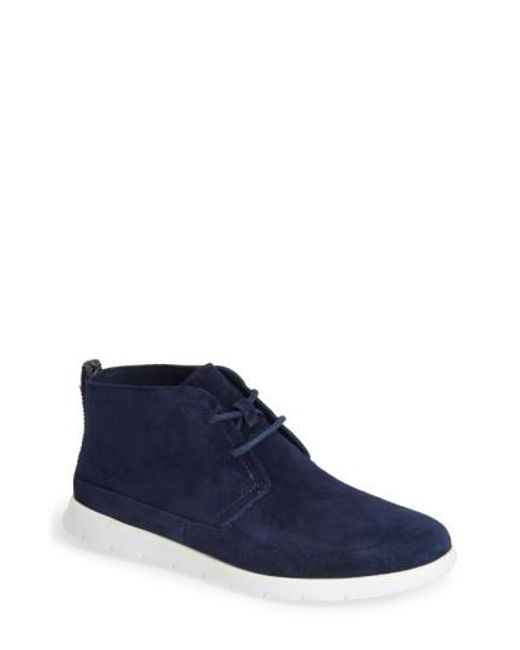 Ugg - Blue Ugg Freamon Suede Chukka Boot for Men - Lyst