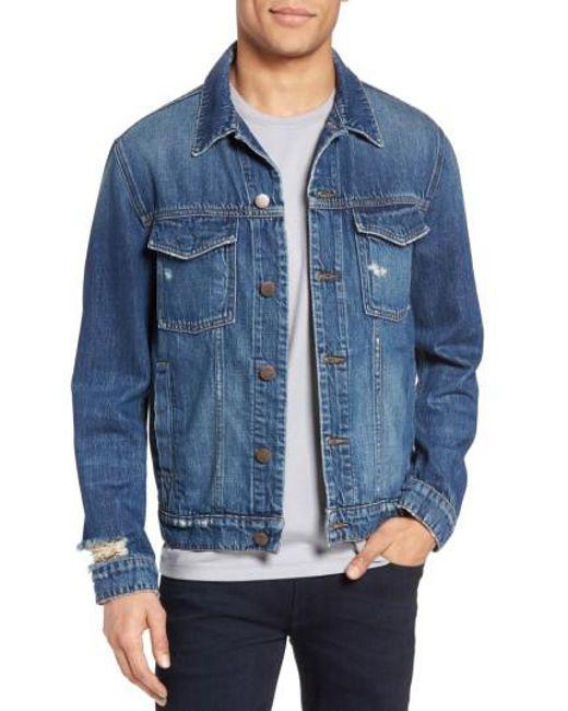 J Brand - Blue Gorn Denim Jacket for Men - Lyst