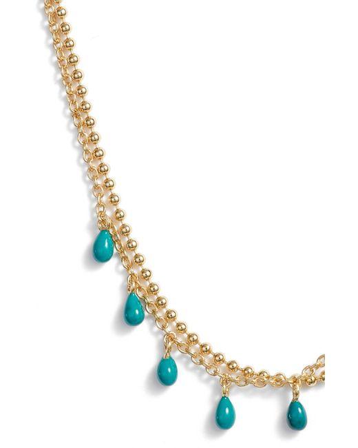 Argento Vivo - Metallic Enamel Double Layer Necklace - Lyst