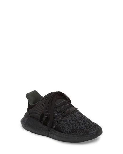 Lyst Adidas EQT Support 93 / 17 zapatilla en negro para hombres