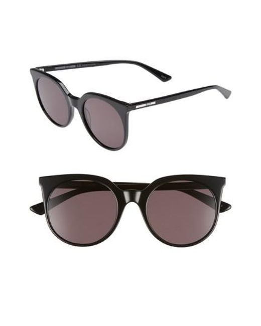 McQ Alexander McQueen - Black 52mm Cat Eye Sunglasses - Lyst