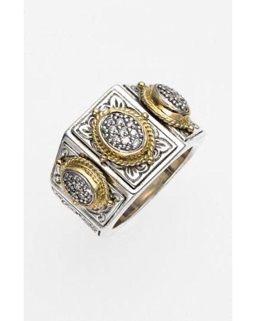 Konstantino | Metallic 'diamond Classics' Diamond Ring | Lyst