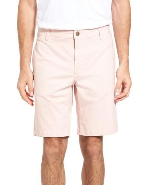 Tailor Vintage | Natural Stretch Twill Walking Shorts for Men | Lyst