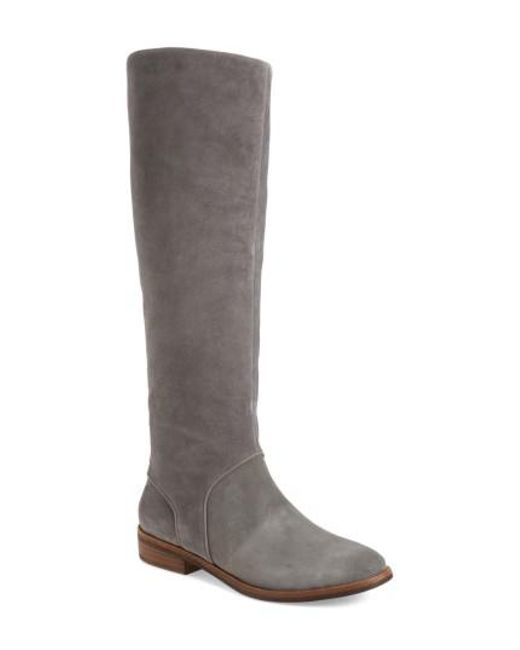 Ugg | Gray Ugg Daley Tall Boot | Lyst
