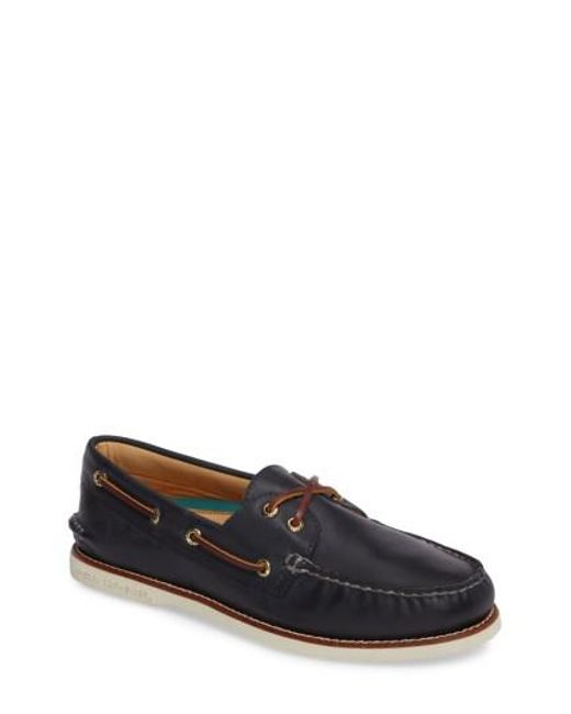 Sperry Top-Sider - Blue 'gold Cup - Authentic Original' Boat Shoe for Men - Lyst
