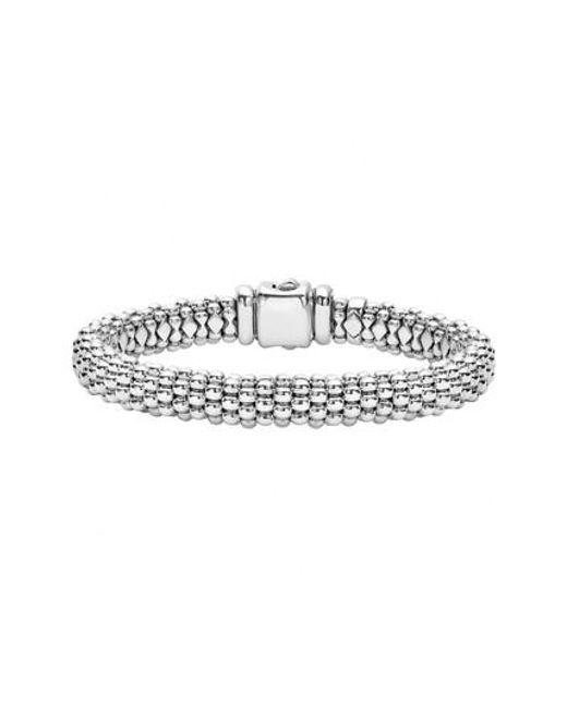 Lagos - Metallic Caviar Rope Bracelet - Lyst
