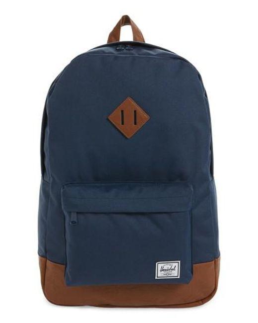 Herschel Supply Co. | Blue Heritage Backpack for Men | Lyst