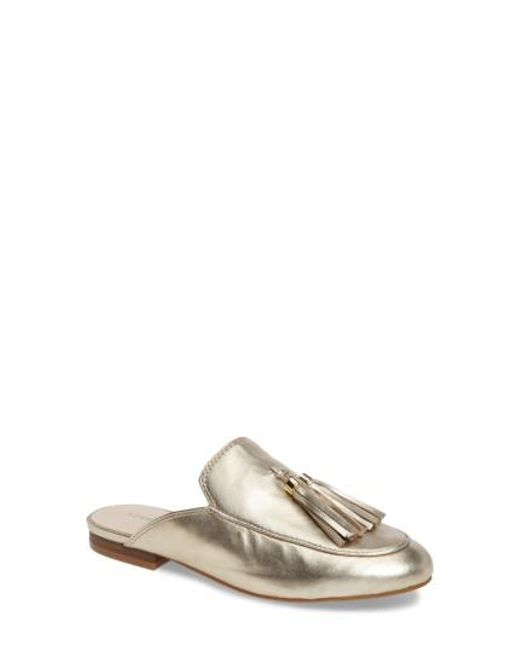 Kenneth Cole | Metallic Whinnie Loafer Mule | Lyst