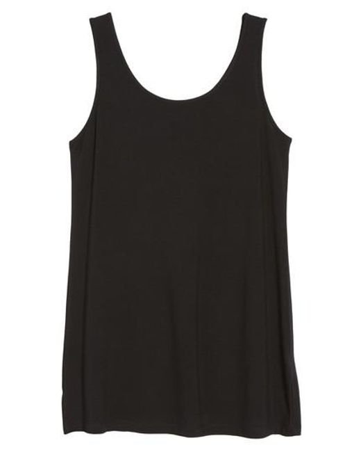 Ming Wang | Black Long Jersey Tank | Lyst