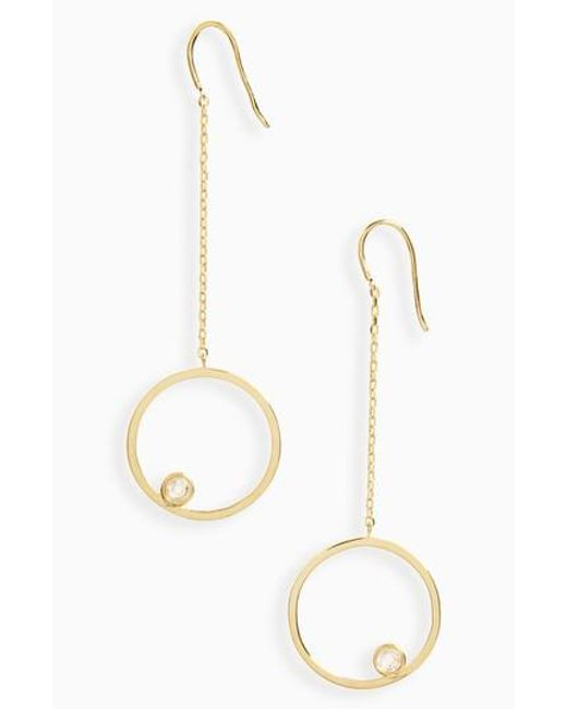 Melinda Maria | Metallic Kelly Drop Earrings | Lyst
