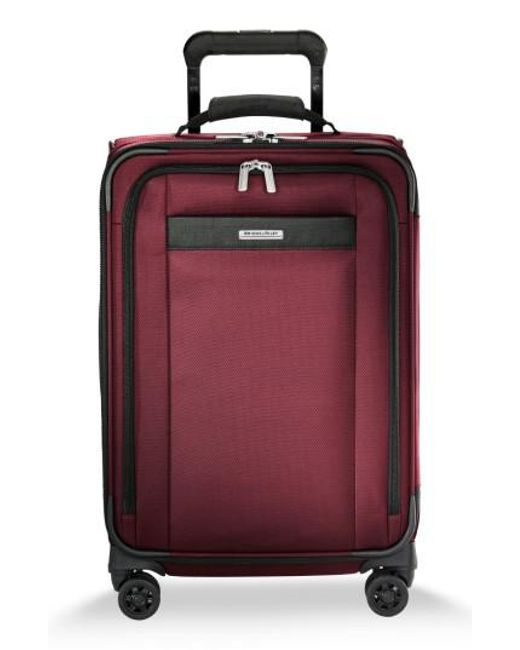Briggs & Riley - Red Transcend Vx Tall Expandable 22-inch Spinner Suitcase - Lyst