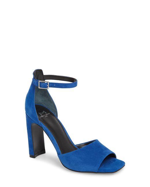 Marc Fisher - Blue Harlin Ankle Strap Sandal - Lyst