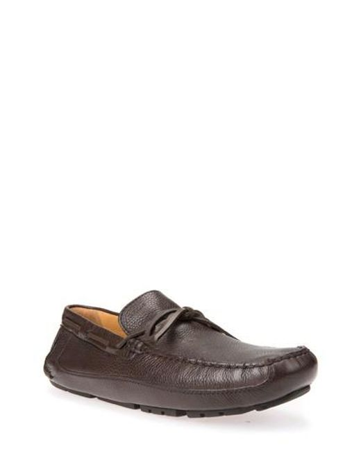Geox | Brown Melbourne 5 Driving Shoe for Men | Lyst