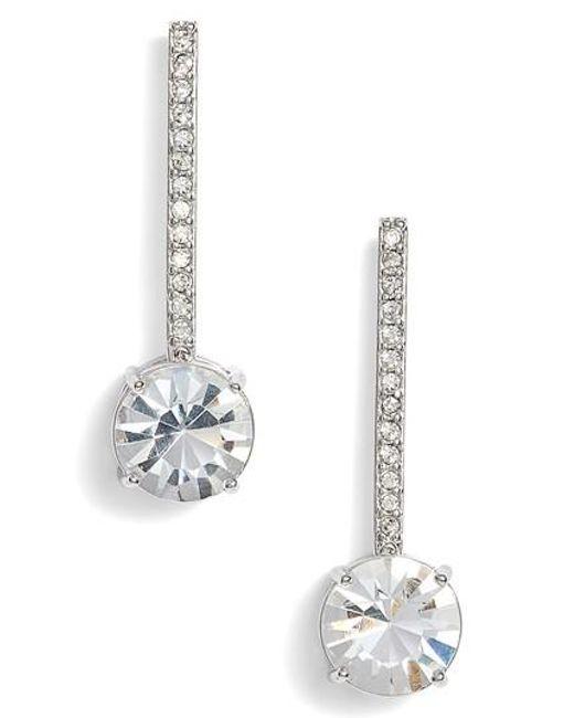 Kate Spade | Metallic Linear Earrings | Lyst