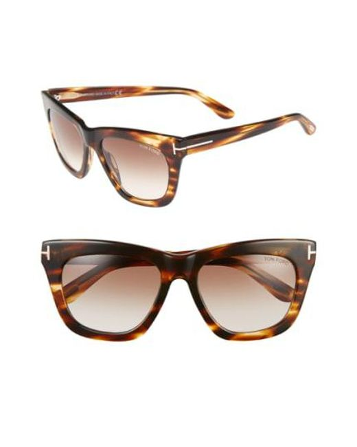 Tom Ford - Brown 'celina' 55mm Sunglasses - Lyst