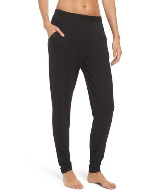 Natori - Black Lounge Pants - Lyst