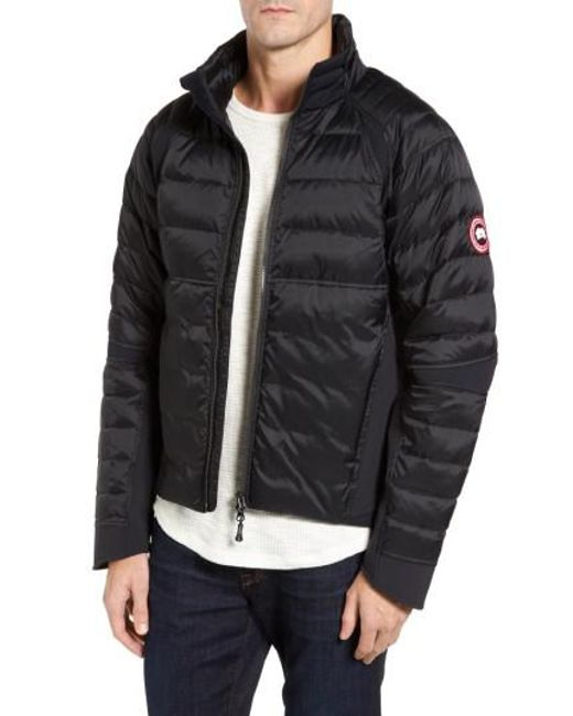 canada goose hybridge quilted shell jacket