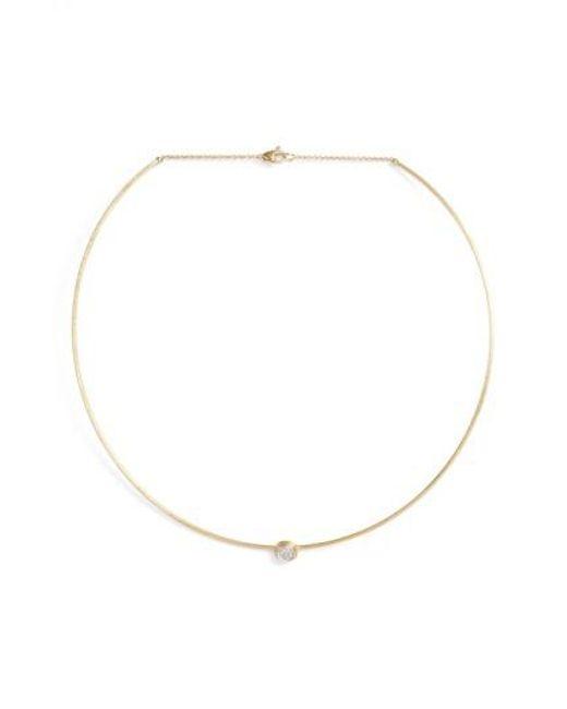 Marco Bicego | Metallic Diamond Collar Necklace | Lyst