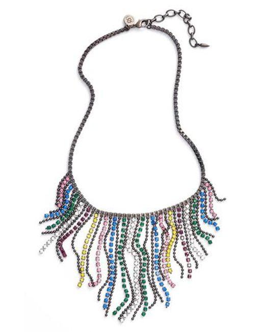 Loren Hope | Multicolor Joanna Frontal Necklace | Lyst