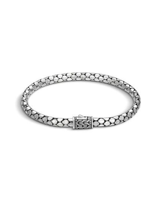 John Hardy - Metallic Dot Chain Bracelet - Lyst