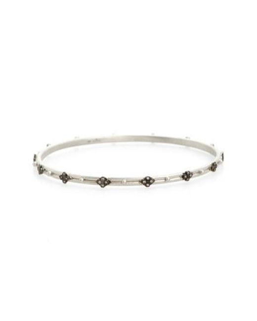 Armenta - Metallic New World Cravelli Diamond Bangle - Lyst