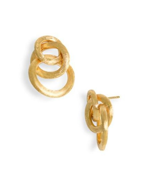 Marco Bicego | Yellow 'jaipur' Cluster Earrings | Lyst