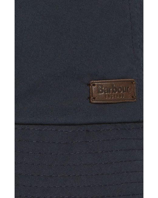 37082204 ... Barbour - Blue Irvine Wax Bucket Hat for Men - Lyst