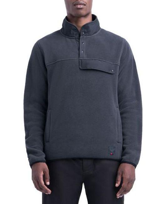 Herschel supply co. Fleece Pullover in Black for Men   Lyst