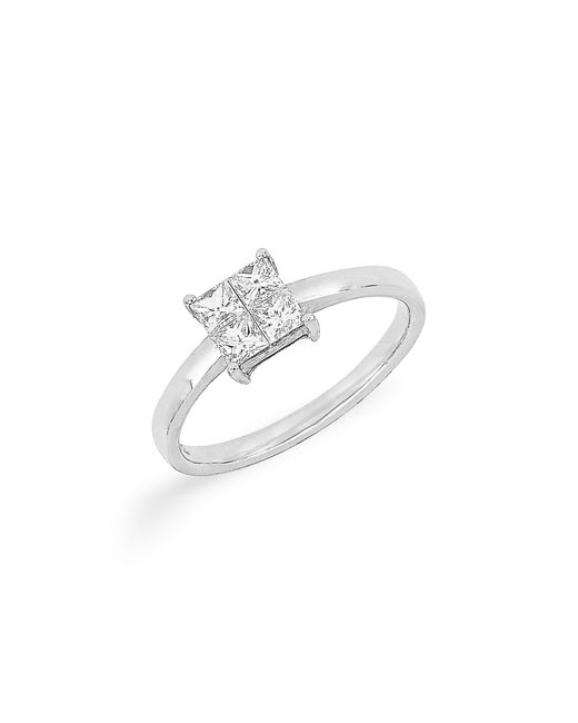 Bony Levy - Multicolor Princess Cut Diamond Ring (nordstrom Exclusive) - Lyst