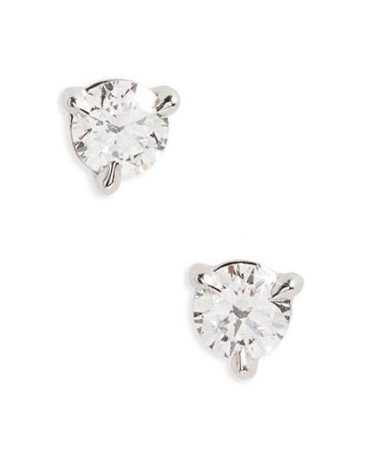 Kwiat | Metallic 0.33ct Tw Diamond & Platinum Stud Earrings | Lyst