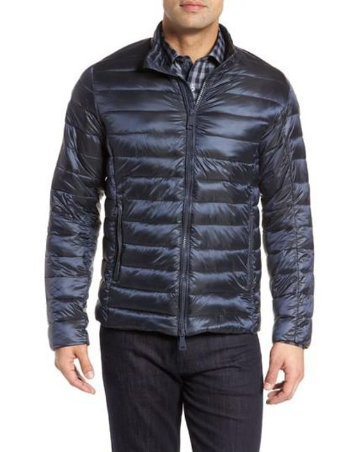 Bugatchi | Blue Channel Quilted Jacket for Men | Lyst