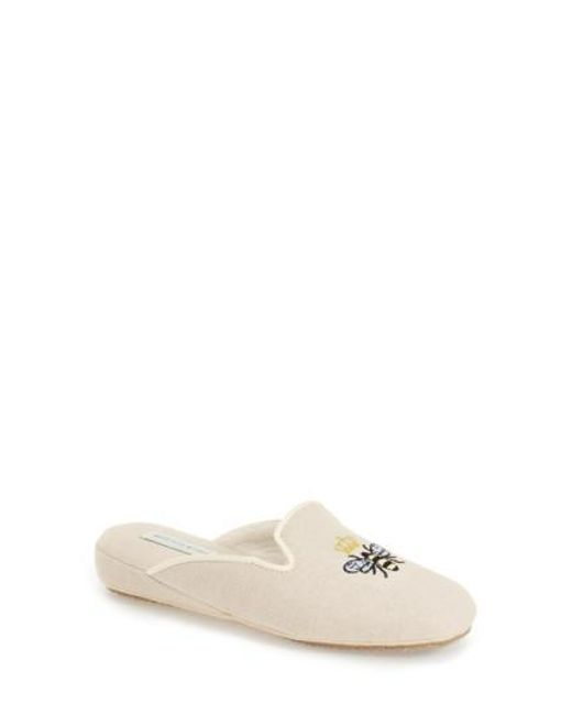 Patricia Green Women's 'Queen Bee' Embroidered Slipper gH90RB