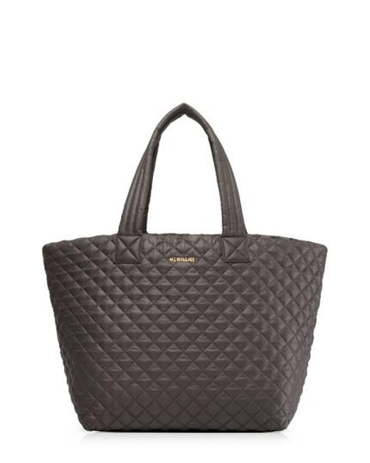 MZ Wallace - Gray Large Metro Tote - Lyst