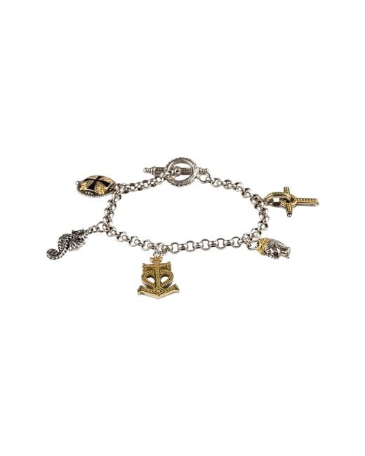 Konstantino - Metallic Gaia Charm Bracelet - Lyst