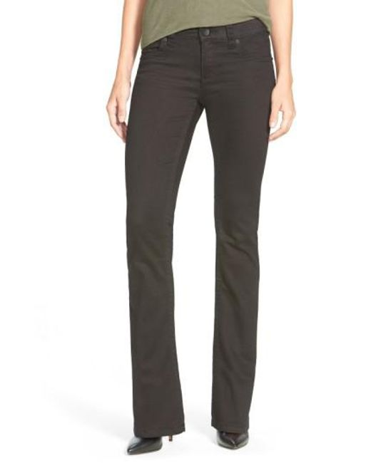 Kut From The Kloth | Black 'natalie' Stretch Bootcut Jeans | Lyst