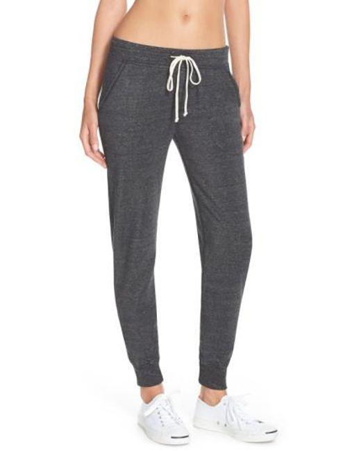 Alternative Apparel - Black Fleece Jogger Sweatpants - Lyst