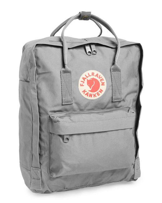 13335b5edae Lyst - Fjallraven Kanken Water Resistant Backpack in Gray - Save 4%