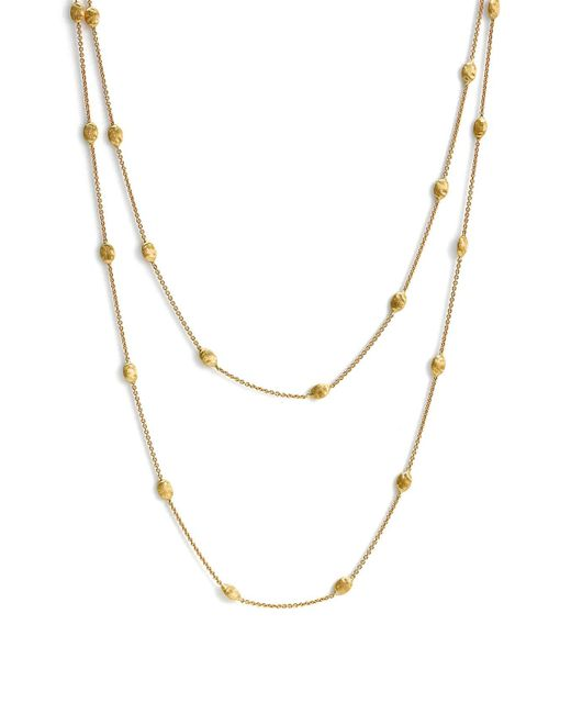 Marco Bicego - Metallic 'siviglia' Long Necklace - Lyst