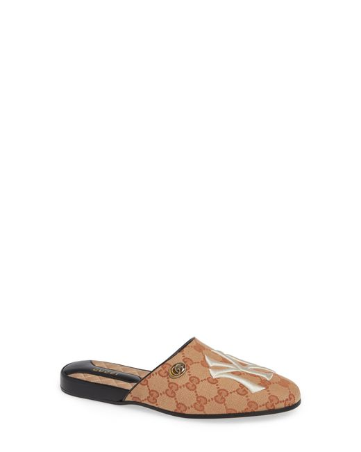 Gucci - Natural Ny Flamel Mule - Lyst