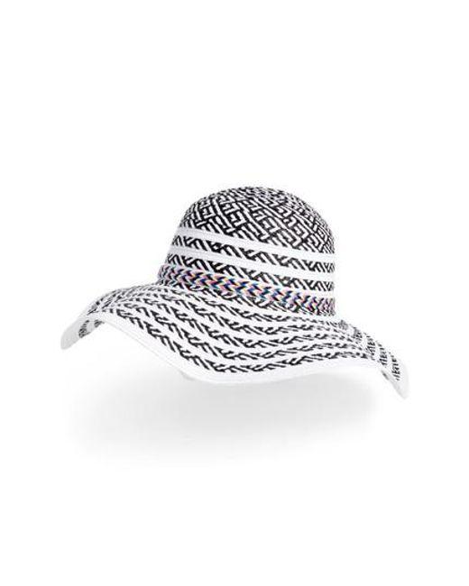 a4eae88b8eb3d Lyst - Steve Madden Beach Party Floppy Hat in White