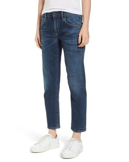 Citizens of Humanity - Blue Emerson Slim Boyfriend Jeans - Lyst