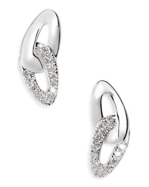 Ippolita | Metallic Cherish Link Diamond Stud Earrings | Lyst