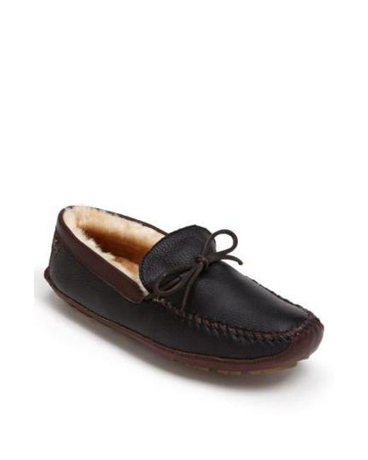 Trask - Black 'polson' Slipper for Men - Lyst