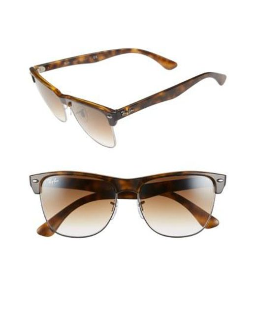 Ray-Ban - Multicolor 'clubmaster' 57mm Sunglasses for Men - Lyst