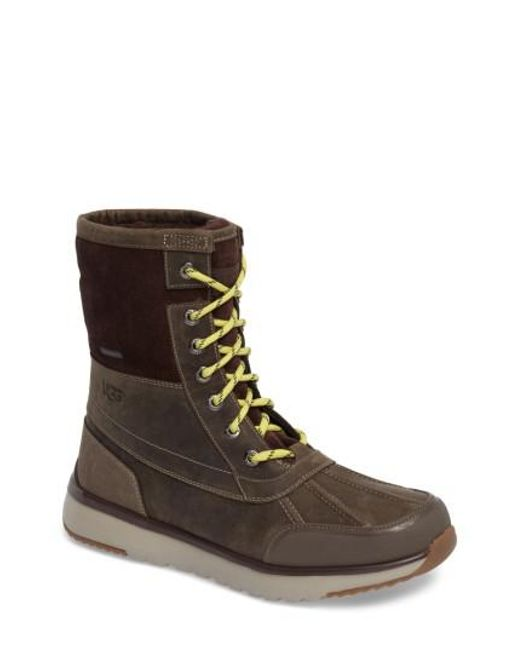 Ugg - Brown Ugg Eliasson Waterproof Snow Boot for Men - Lyst