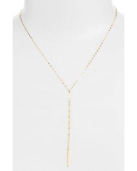 Lana Jewelry Pavé Diamond Square Bar Lariat Necklace OyVb9S