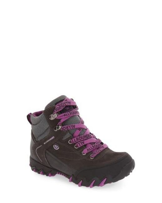 Allrounder By Mephisto - Purple 'nigata-tex' Waterproof Sneaker - Lyst